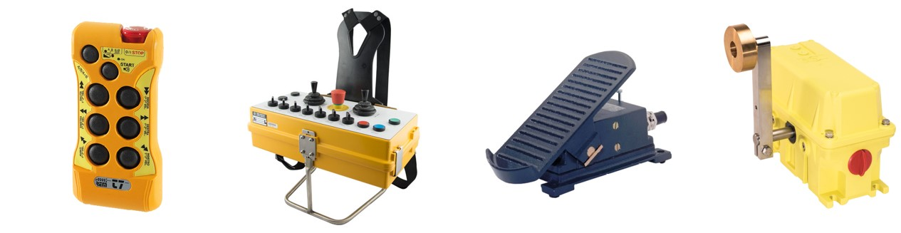 Equipment for cranes and machines