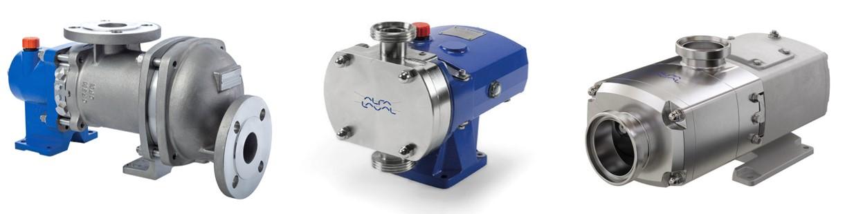 Volumetric sanitary pumps