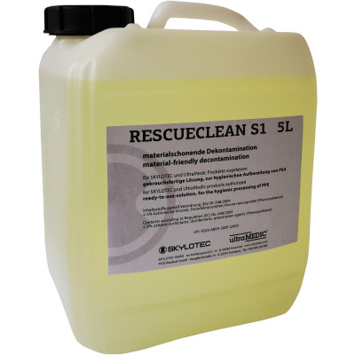 Decontaminante DPI Rescue Clean S1 per sanificazione DPI  e imbragatura anticaduta