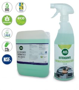 Detergente enzimatico multiuso sgrassatore industriale AB DD456-IND NSF Ecolable, KIEPE Electric SpA