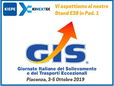 GIS Piacenza KIEPE - Giornate Italiane del Sollevamento e dei Trasporti Eccezionali