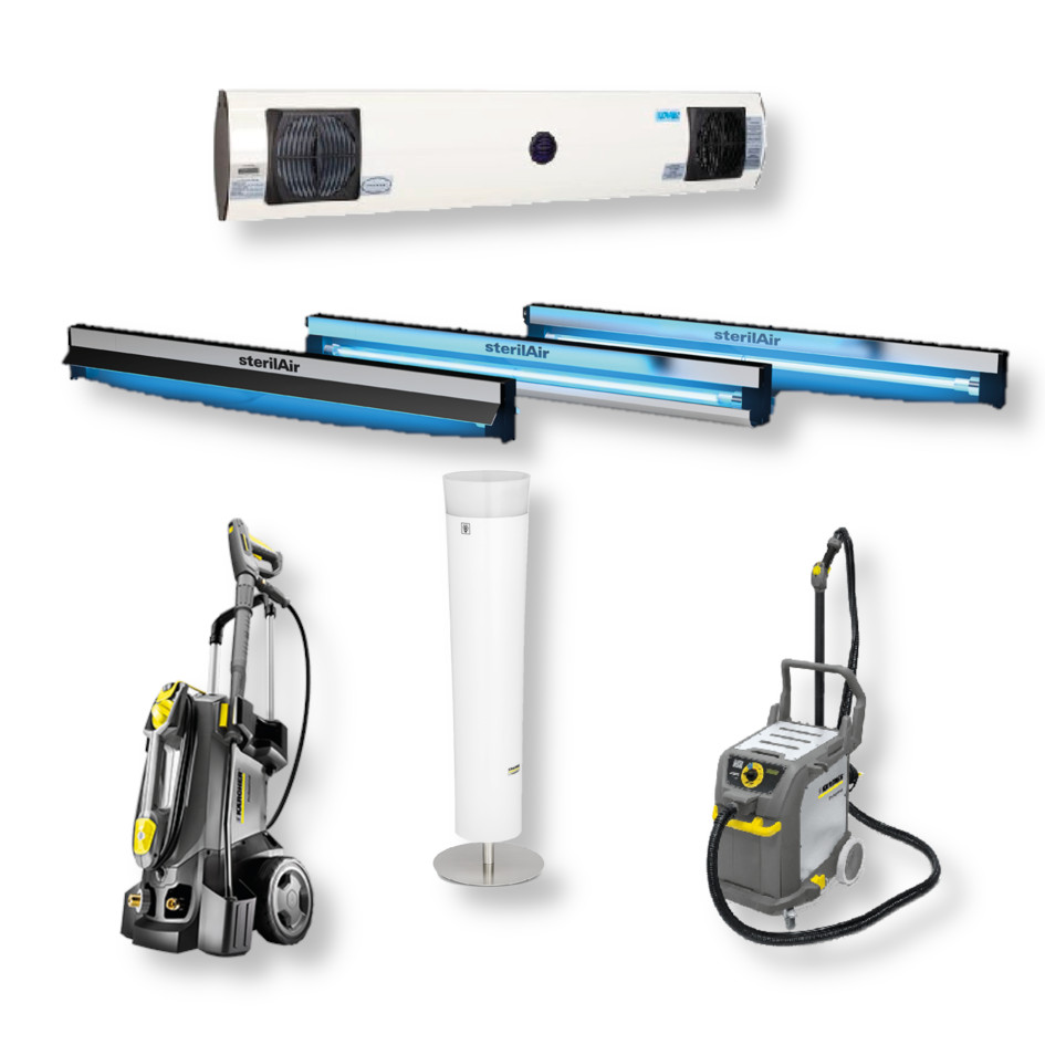 Dispositivi per sanificazione ambienti aria superfici, Kiepe Electric SpA
