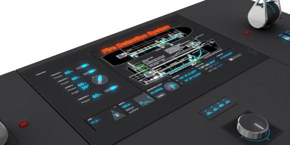 Impianto di rilevamento incendio certificato DNV GL con cavo termosensibile resettabile LISTEC e Console di controllo navale Lilaas LTC01